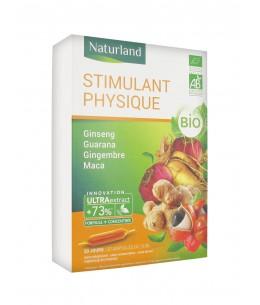 Naturland - Extrait Fluide Bio - Ginseng, guarana, gingembre et maca