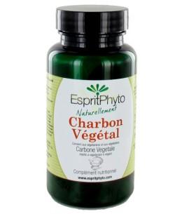 Charbon végétal activé ventre plat - 90 gélules - Espritphyto