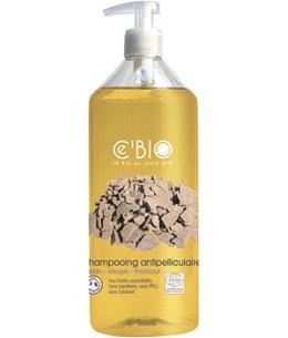C'bio - Shampoing antipelliculaire Cade Sauge Rhassoul - 500 ml