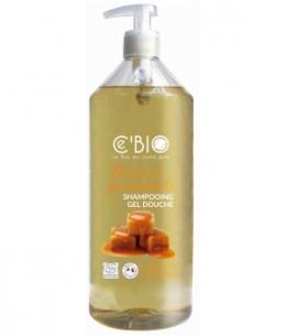 C'bio - Shampooing douche douceur gourmande - 1 L
