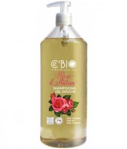C'bio - Shampooing douche Rose d'Antan - 1 L