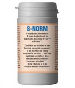 han-biotech - S NORM anti ronflement - 90 gélules