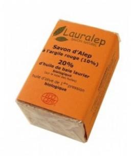 Lauralep - Le savon d'Alep à l'Argile Rouge - 150 gr