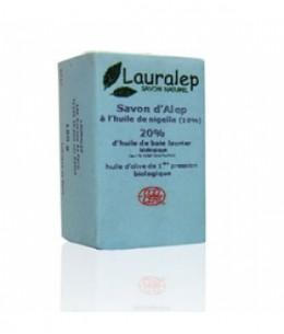 Lauralep - Savon d'Alep enrichi à l'huile de Nigelle - 150 gr