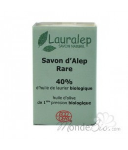 Lauralep - Savon d'Alep Rare 40% huile de Laurier - 150 gr