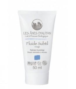 Les Anes d'Autan - Fluide Subtil au lait d'ânesse peaux normales à mixtes - 50 ml