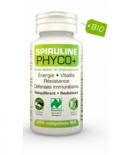 Lt Labo - Spiruline Bio Phyco+ - 500 comprimés