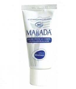 Massada - Baume pour le corps au sel de la Mer Morte - 50 ml