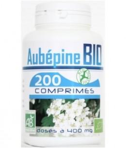 GPH Diffusion - Aubépine bio 400mg - 200 comprimés
