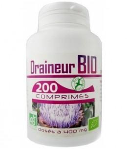 GPH Diffusion - Draineur Bio 400mg - 200 comprimés