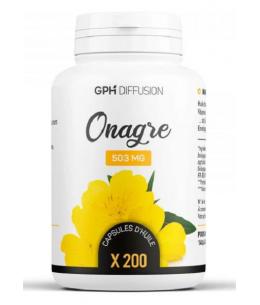 GPH Diffusion - Huile d'Onagre bio - 200 capsules