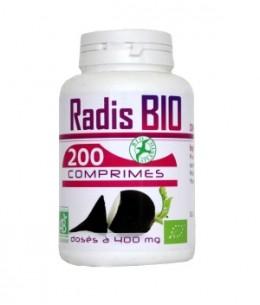 GPH Diffusion - Radis Noir Bio - 200 comprimés