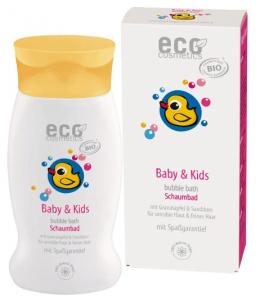 Eco Cosmetics - Bain moussant bébé Argousier et Grenade - 200 ml