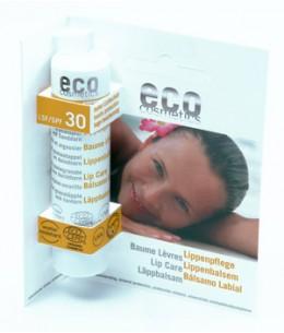Eco Cosmetics - Baume Lèvres SPF 30 Grenade et Argousier - 4 gr