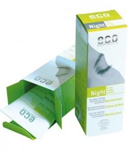 Eco Cosmetics - Crème de nuit Grenade et Ginseng - 50 ml