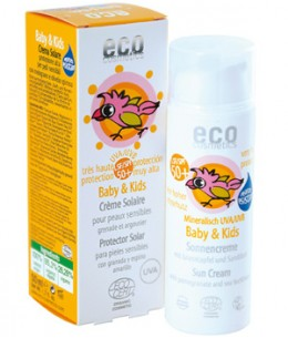 Eco Cosmetics - Crème solaire LSF/SPF50+ Baby & Kids - 50 ml