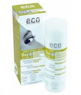 Eco Cosmetics - Crème visage indice 15 teintée Grenade et Argousier - 50 ml