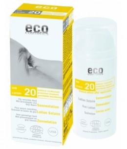 Eco Cosmetics - Lotion Solaire SPF 20 Grenade et Baies de Goji - 100 ml