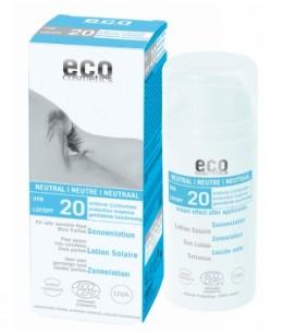 Eco Cosmetics - Lotion Solaire SPF 20 Sans parfum - 100 ml