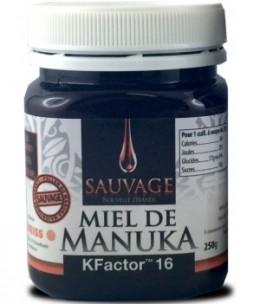 Dr.Theiss - Miel de Manuka Kfactor 16 Sauvage - 250 gr