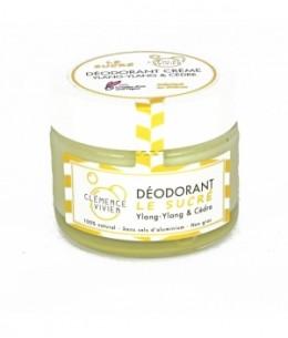 Clemence & Vivien - Baume déodorant Le Sucré Ylang Ylang et Cèdre- 50 gr