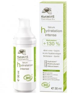 Biokarite - Sérum hydratation Acide hyaluronique Betterave Maïs Lupin blanc Aloe Karité - 30 ml