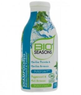 Bio Seasons - Shampoing purifiant et rafraîchissant - 300 ml