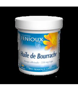 Fenioux - Huile de Bourrache - 200 capsules