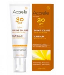 Acorelle - Baume Solaire Visage SPF 30 - 30 ml