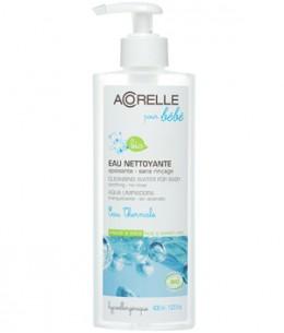 Acorelle - Eau nettoyante apaisante Bébé sans rinçage - 400 ml