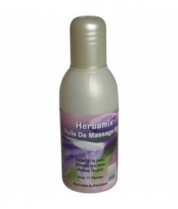 Kerala Nature - Huile de massage ayurvédique 11 plantes - 100 ml