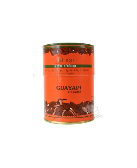 Guayapi - Thé noir, pur thé de Ceylan Arôme Généreux - boite 100 gr