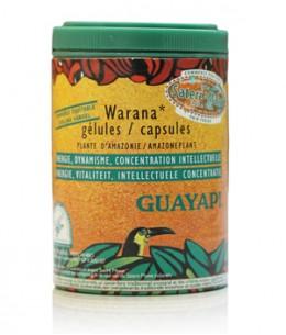 Guayapi - Warana guarana des terres d'origines 100 gélules