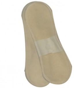 Lulu Nature - Lot 4 protèges slips standard en coton - 19 x 5 cm