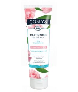 Coslys - Gel de toilette intime Eau florale de Rose - 250 ml