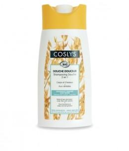 Coslys - Shampoing douche aux céréales tonique et vitaminé - 250 ml