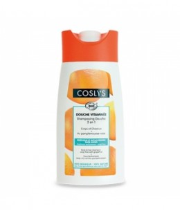 Coslys - Shampoing Douche Pamplemousse Bio 250 ml