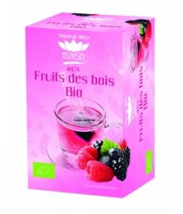 Romon Nature - Infusion plaisir Fruits des Bois bio - 20 sachets