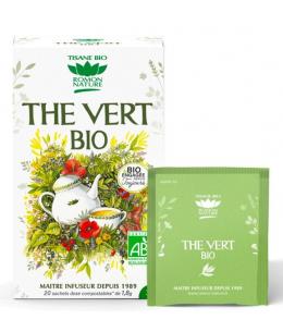 Romon Nature - Thé vert bio - 20 sachets