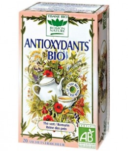 Romon Nature - Tisane Antioxydants bio - 20 sachets de 34g