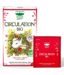 Romon Nature - Tisane Circulation bio - 20 sachets 32g