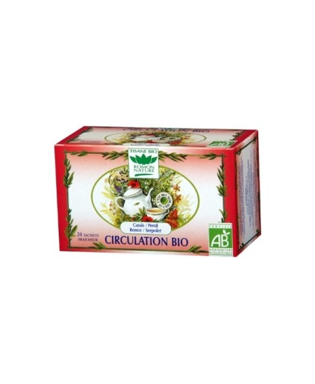 Romon Nature - Tisane Circulation bio - 20 sachets 32g