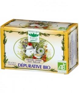 Romon Nature - Tisane Dépurative bio - 20 sachets de 32 gr