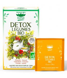 Romon Nature - Tisane Detox bio aux Légumes - 20 sachets de 32 gr