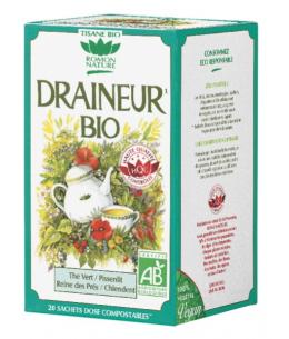Romon Nature - Tisane Draineur - 20 sachets de 32 gr