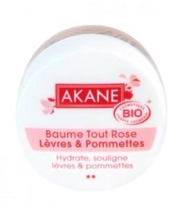 Akane - Baume Tout rose lèvres et pommettes - 12 gr