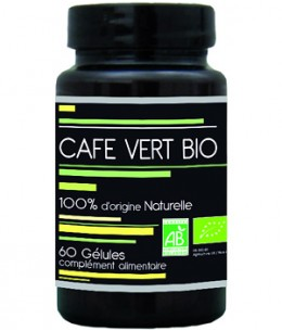 Aquasilice - Café vert bio - 60 gélules