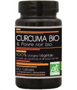 Aquasilice - Curcuma Bio et Poivre Noir Bio 60 gélules