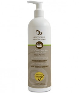 Armonia - Lotion corps naturelle à la bave d'escargot - 500 ml