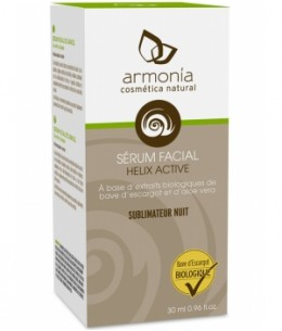 Armonia - Sérum facial à base de bave d'escargot Helix Aspersa - 030 ml